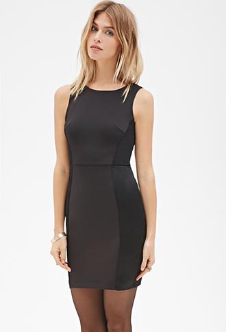 robe noire mi longue