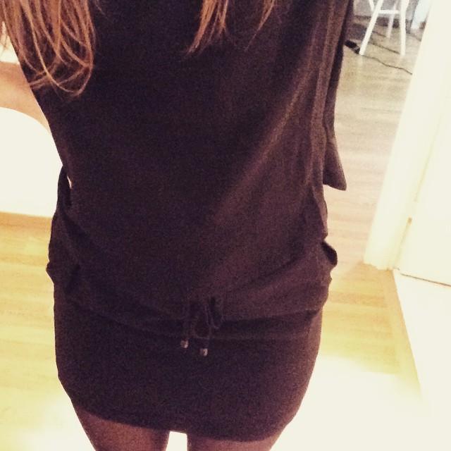 Robe noir chic