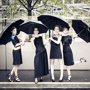 robe noires