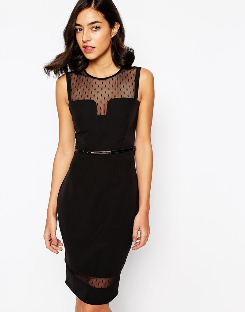 robe noire pas cher
