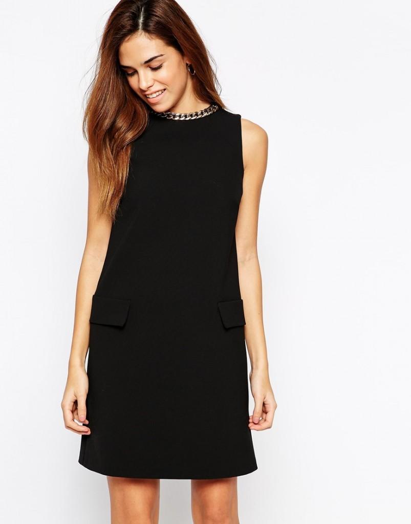 robe noire mariage