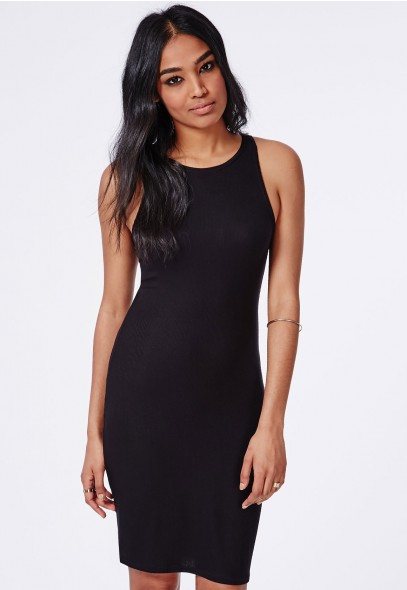 robe fluide noire