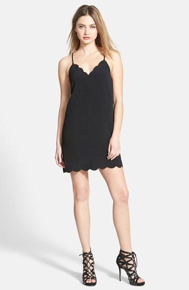 Longue robe noire pas cher