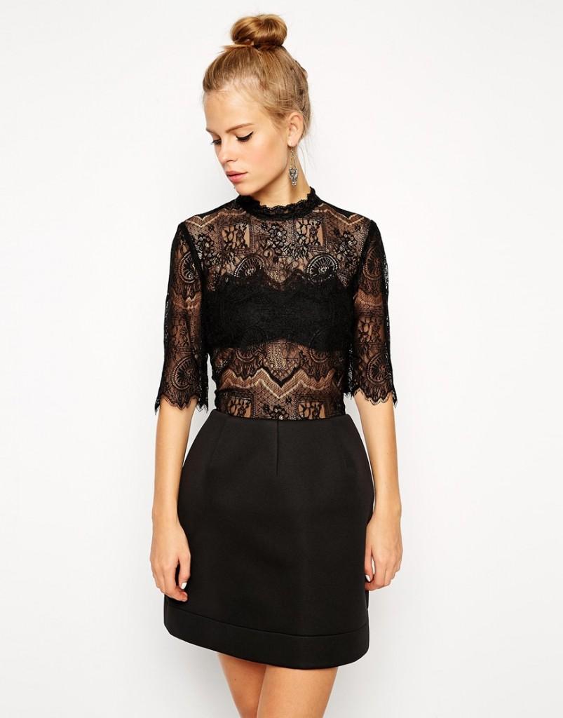 petite robe noire sexy