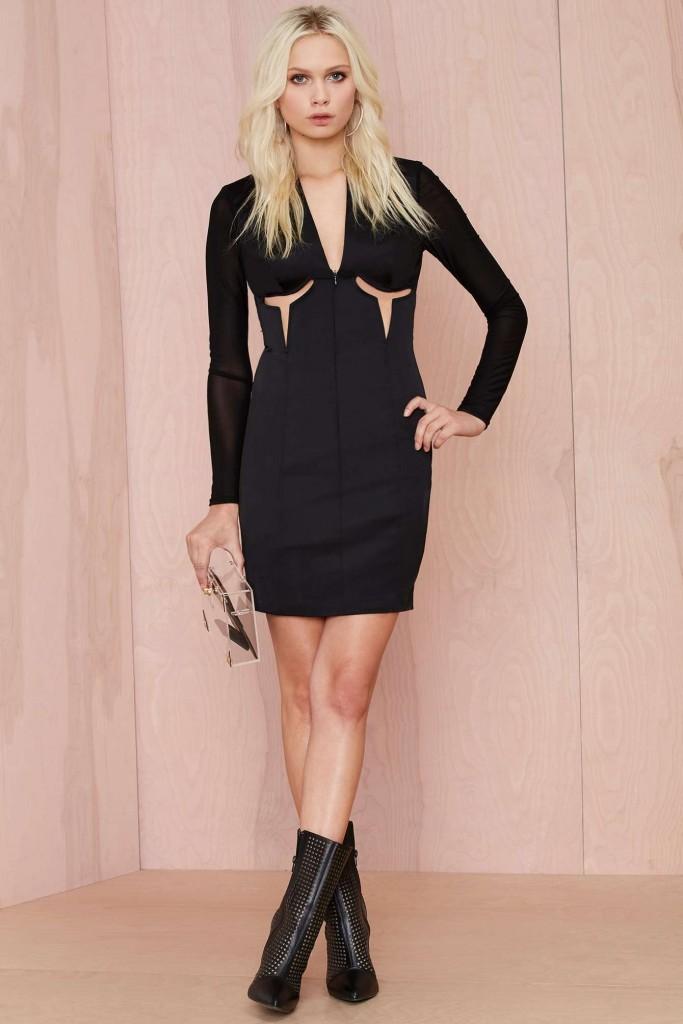 robe corset noire