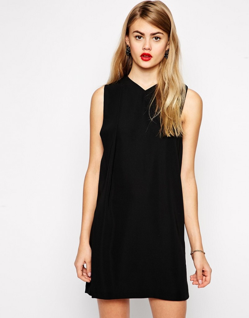 robe de soirée courte noire