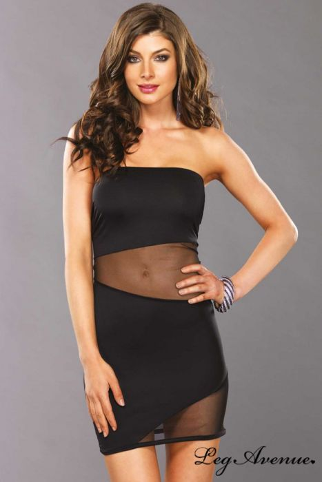 robe noire cop copine