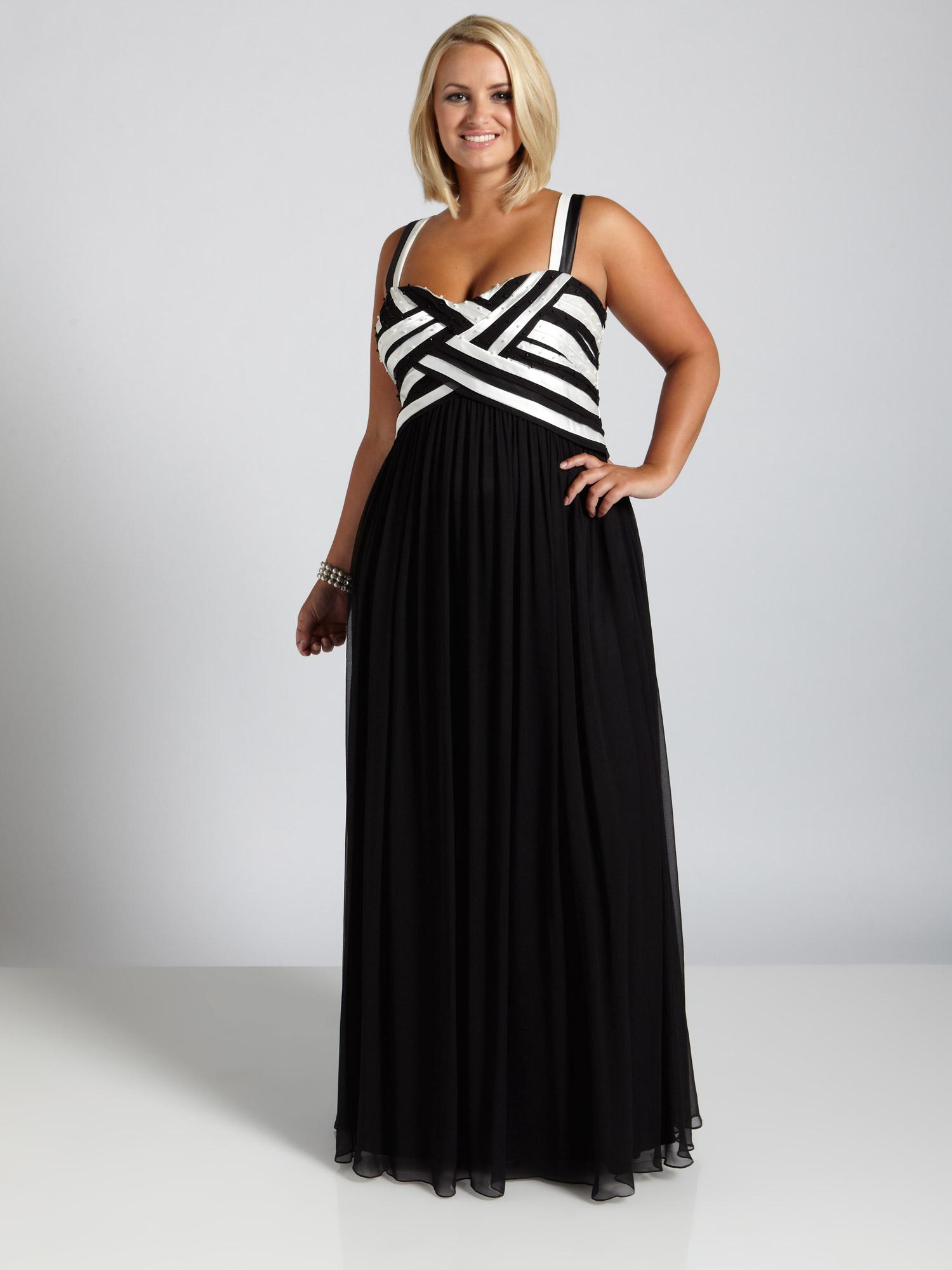robe noir pour mariage - Robe Habille Pour Mariage Grande Taille