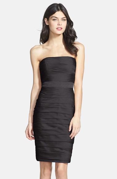 robe noire taille empire