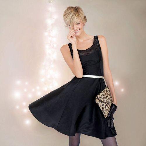 robe de soiree noir