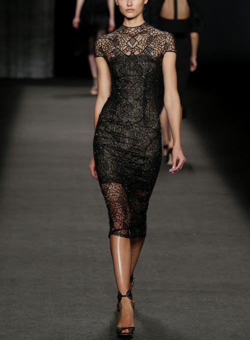 robe soiree noire
