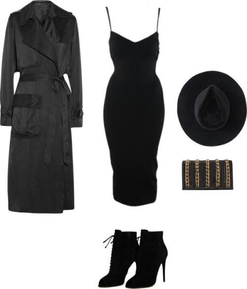 robe maje noire